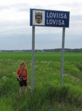 Poikkesimme ohimennen myös Loviisassa